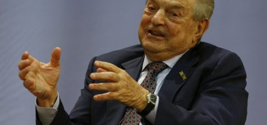 Global financier George Soros speaks the open forum in Hong Kong University Wednesday, Feb.3, 2010.  (AP Photo/Kin Cheung)