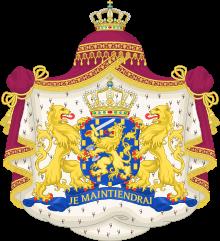 Královský státní znak Nizozemska